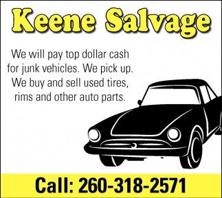 We Will Pay Top Dollar Cash for Junk Vehicles